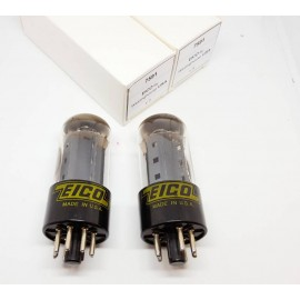 7591 EICO by Westinghouse USA Pair  NOS (V5-V6)