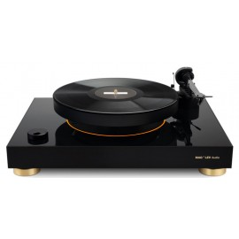 MAG-LEV LEVITATING TURNTABLE - Nero piedini Oro