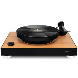 MAG-LEV LEVITATING TURNTABLE - Wooden color