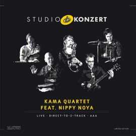 KAMA QUARTET feat. NIPPY NOYA - STUDIO KONZERT (LP)
