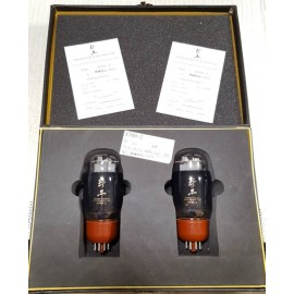 KT66-Z Black Treasures Gold Grid Pair Factory certificate
