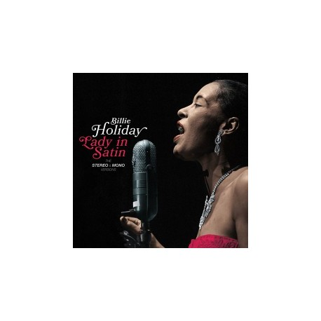Billie HOLIDAY - LADY IN SATIN [THE STEREO & MONO VERSIONS] (2 LP)