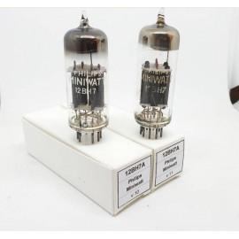 12BH7A Philips Miniwatt NOS Pair (v10 - v11)