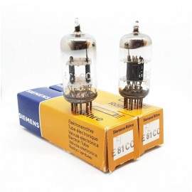 E81CC - 12AT7WA SIEMENS USA NOS-NIB Coppia Pair (v71 -v72)