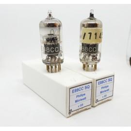 E88CC - 6922 PHILIPS Miniwatt SQ Gold Pin NOS Coppia (v68 - v69)