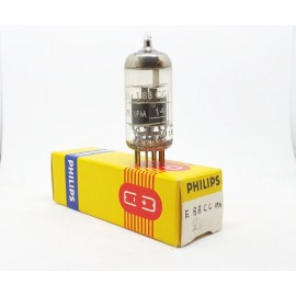 E88CC -6922 PHILIPS JG 71 IPM Large Base Gold Pin NOS-NIB Singola (v234)