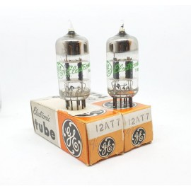 12AT7 - ECC81 General Electric NOS-NIB Pair (v96 - 97)