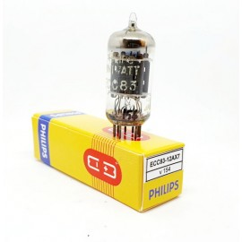 ECC83 - 12AX7 PHILIPS Miniwatt NOS-NIB Single (v154)