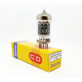 ECC83 - 12AX7 PHILIPS Miniwatt NOS-NIB Single (v155)