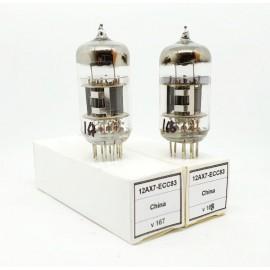 12AX7 - ECC83 China NOS Coppia (v167 - v168)