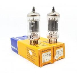 ECC82 - 12AU7 Siemens NOS- NIB Coppia / Pair (V140 - v141)