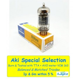 ECC82 - 12AU7 Siemens Germany By Philips NOS-NIB - 3% SPECIAL SELECTION - Singola Usata (V132)