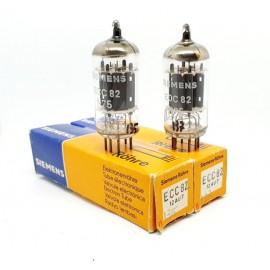 ECC82 - 12AU7 Siemens NOS- NIB Pair (V135 - v137)