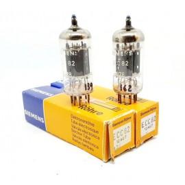 ECC82 - 12AU7 Siemens NOS- NIB Pair (V139 - v142)
