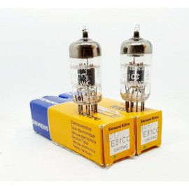 E81CC - 12AT7WC SIEMENS NOS-NIB Pair (v101 - v107)