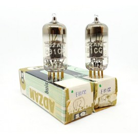 E81CC - 12AT7WA SQ Pin Gold ADZAM NOS-NIB Pair (v112 - v113)