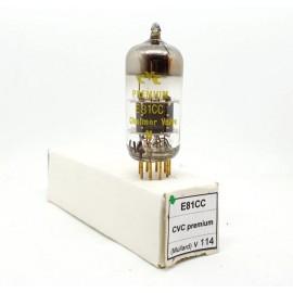 E81CC - 12AT7WA Pin Gold CVC Premium (By Mullard) NOS Singola (v114)