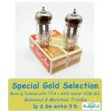 12AT7- ECC81- B739 Genalex Gold - 5% SPECIAL SELECTION - Pair (v157-v158)