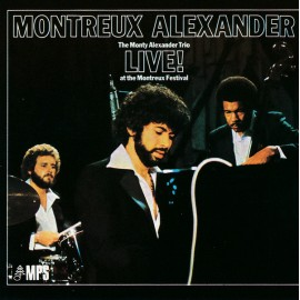 Monty ALEXANDER TRIO - LIVE! AT THE MONTREUX FESTIVAL 1976 (LP)