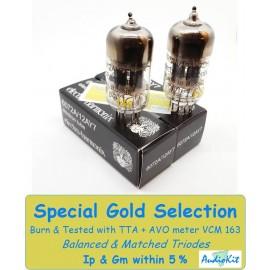 6072A-12AY7 Electro Harmonix - 3% SPECIAL SELECTION - Pair (v189-v194)