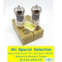12AT7 EH GOLD - 4% SPECIAL SELECTION - Pair (v78 - v80)