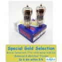 12AU7W - 6189 - ECC82 Tung-Sol - 4% SPECIAL SELECTION - Coppia (v113-V116)