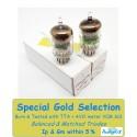 5670-6N3-396A-2C51 JAN GE USA NOS - 5% SPECIAL SELECTION - Pair (v7- v10)