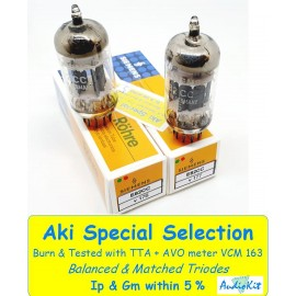 E82CC - 12AU7WA Siemens Germany NOS- NIB  - 5% SPECIAL SELECTION - Pair (V176 - v177)