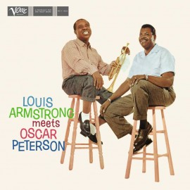 L. ARMSTRONG & O. PETERSON - LOUIS ARMSTRONG MEETS OSCAR PETERSON (LP)