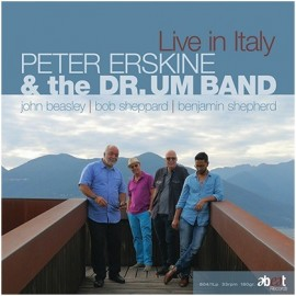 Peter ERSKINE & THE DR. UM BAND - LIVE IN ITALY (LP)