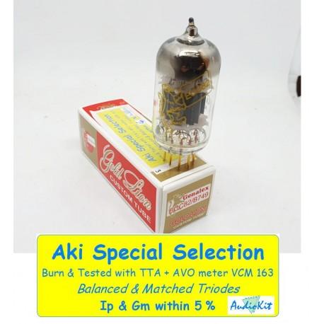 12AU7 - ECC82- B749 Genalex Gold - 0% SPECIAL SELECTION - Single (v343)
