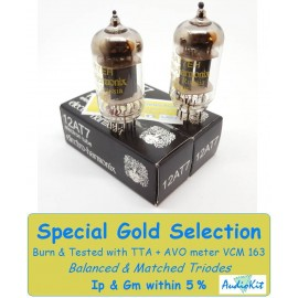 12AT7- ECC81 Electro Harmonix - 5% SPECIAL SELECTION - Pair (v121-v122)