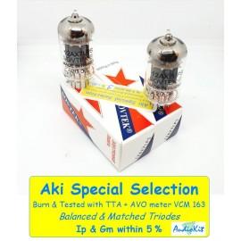 12AX7LPS Sovtek - 3% SPECIAL SELECTION - Pair (v468 - v469)