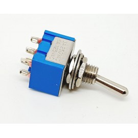 KC202 Mini Switch DPST 125V 6A