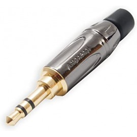 Anphenol Jack maschio 3,5 mm Stereo Gold