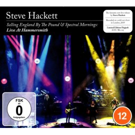 Steve HACKETT - SELLING ENGLAND BY THE POUND & SPECTRAL MORNINGS: LIVE AT HAMMERSMITH (2CD+BluRay Video)