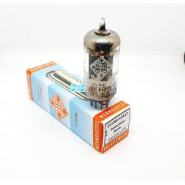 ECC83 - 12AX7 TELEFUNKEN NOS Diamond, Ribbed plates Germany Berlin, Single Used (v218)