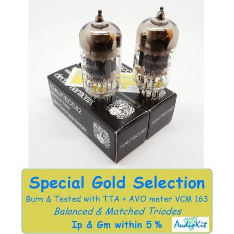 12AU7- ECC82 Electro Harmonix - 5% SPECIAL SELECTION - Pair (v345-v351)
