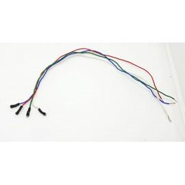 4 Colors Set Wires for Teksonor Tonearm
