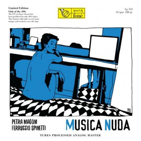Petra MAGONI, Ferruccio SPINETTI - MUSICA NUDA (LP)