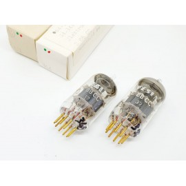 E88CC - 6922 TESLA Sword Gold Pin MIL - NOS - NIB Coppia (v348 - v356)