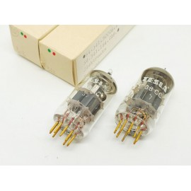 E88CC - 6922 TESLA Sword Gold Pin MIL - NOS - NIB Pair (v308 - v347)