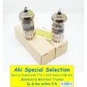 E88CC - 6922 TESLA Sword Gold Pin MIL - NOS - NIB - 5% SPECIAL SELECT  - Pair (v354 - v357)