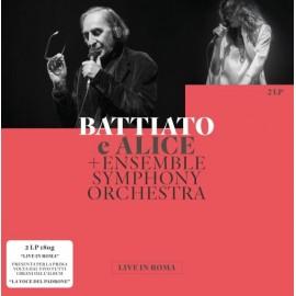 Franco BATTIATO e ALICE + ENSEMBLE SYMPHONY ORCHESTRA - LIVE IN ROMA (2 LP)