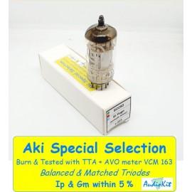 ECC83 - 12AX7 Ei Yugo Silver Smooth Plates NOS - 4% SPECIAL SELECTION - Single (v223)