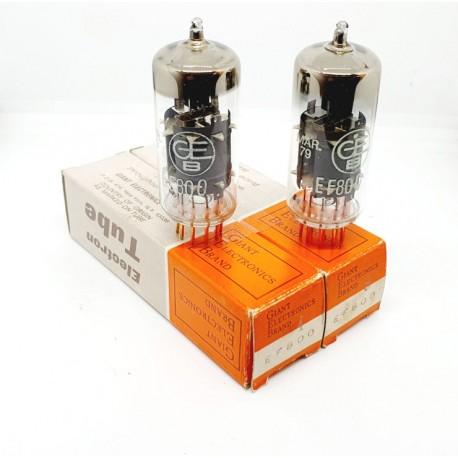 EF800 GEB (RFT Germany made ) NOS-NIB Pair (v1 - v8)