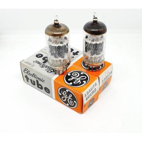 12AU7A - ECC82 General Electric USA NOS-NIB Coppia (v211 - v216)