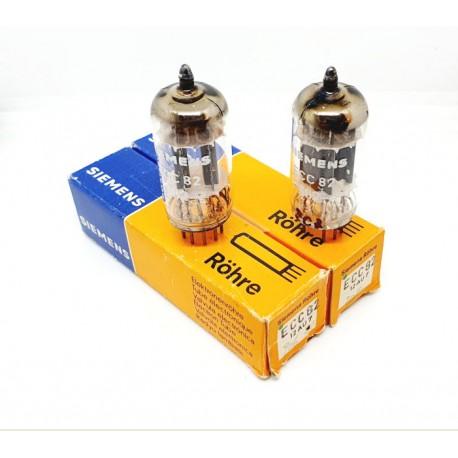 ECC82 - 12AU7 Siemens NOS- NIB Pair (V206 - v207)