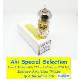 E88CC -6922 TESLA Yellow Print Pin Gold NOS - 1% SPECIAL SELECT  - Singola (v294)