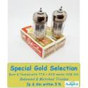 12AU7 - ECC82- B749 Genalex Gold - 4% SPECIAL SELECTION - Coppia (v354 - v394)